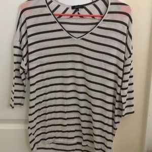 Tops - comfy short sleeve striped tee!